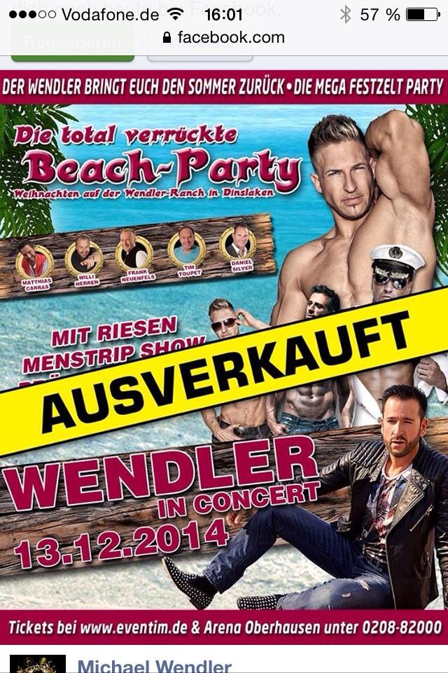 Stripper Mirko Bielefeld - Minden - Hannover
